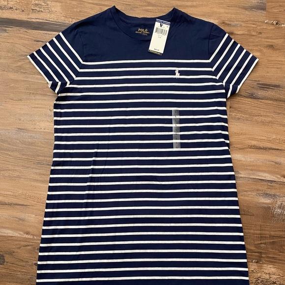 Brand new Polo Ralph Lauren t-shirt dress